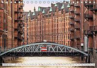 Hamburg. HafenCity, Kontorhausviertel und Speicherstadt. (Tischkalender 2019 DIN A5 quer) - Produktdetailbild 2