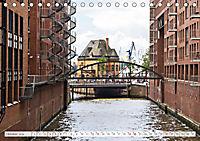 Hamburg. HafenCity, Kontorhausviertel und Speicherstadt. (Tischkalender 2019 DIN A5 quer) - Produktdetailbild 10