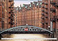 Hamburg. HafenCity, Kontorhausviertel und Speicherstadt. (Wandkalender 2019 DIN A2 quer) - Produktdetailbild 2