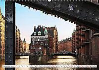 Hamburg. HafenCity, Kontorhausviertel und Speicherstadt. (Wandkalender 2019 DIN A2 quer) - Produktdetailbild 12