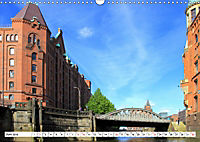 Hamburg - Im Herzen einer Großstadt (Wandkalender 2019 DIN A3 quer) - Produktdetailbild 6