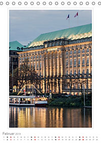 Hamburg - Impressionen einer Stadt (Tischkalender 2019 DIN A5 hoch) - Produktdetailbild 2