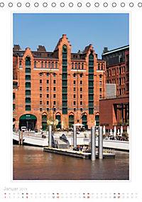 Hamburg - Impressionen einer Stadt (Tischkalender 2019 DIN A5 hoch) - Produktdetailbild 1