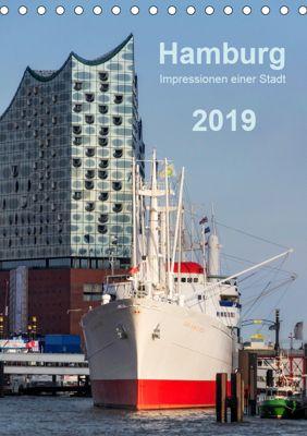 Hamburg - Impressionen einer Stadt (Tischkalender 2019 DIN A5 hoch), Klaus Kolfenbach