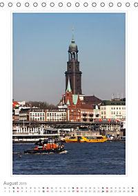 Hamburg - Impressionen einer Stadt (Tischkalender 2019 DIN A5 hoch) - Produktdetailbild 8