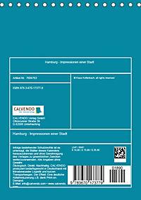 Hamburg - Impressionen einer Stadt (Tischkalender 2019 DIN A5 hoch) - Produktdetailbild 13