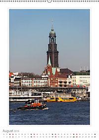 Hamburg - Impressionen einer Stadt (Wandkalender 2019 DIN A2 hoch) - Produktdetailbild 8