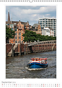 Hamburg - Impressionen einer Stadt (Wandkalender 2019 DIN A3 hoch) - Produktdetailbild 9