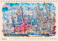 Hamburg - malerische Metropole (Tischkalender 2019 DIN A5 quer) - Produktdetailbild 2