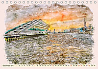 Hamburg - malerische Metropole (Tischkalender 2019 DIN A5 quer) - Produktdetailbild 12