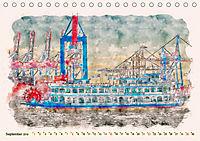 Hamburg - malerische Metropole (Tischkalender 2019 DIN A5 quer) - Produktdetailbild 9