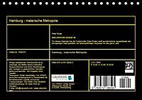 Hamburg - malerische Metropole (Tischkalender 2019 DIN A5 quer) - Produktdetailbild 13