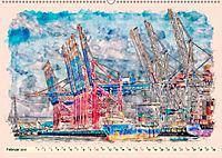 Hamburg - malerische Metropole (Wandkalender 2019 DIN A2 quer) - Produktdetailbild 2