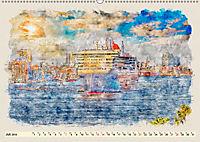 Hamburg - malerische Metropole (Wandkalender 2019 DIN A2 quer) - Produktdetailbild 7
