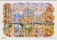 Hamburg - malerische Metropole (Wandkalender 2019 DIN A2 quer) - Produktdetailbild 8