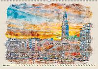 Hamburg - malerische Metropole (Wandkalender 2019 DIN A2 quer) - Produktdetailbild 3