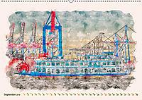 Hamburg - malerische Metropole (Wandkalender 2019 DIN A2 quer) - Produktdetailbild 9