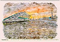 Hamburg - malerische Metropole (Wandkalender 2019 DIN A2 quer) - Produktdetailbild 12