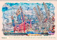 Hamburg - malerische Metropole (Wandkalender 2019 DIN A3 quer) - Produktdetailbild 2