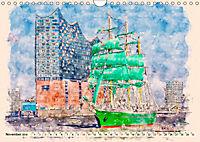 Hamburg - malerische Metropole (Wandkalender 2019 DIN A4 quer) - Produktdetailbild 11