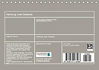 Hamburg, mein Gedanke (Tischkalender 2019 DIN A5 quer) - Produktdetailbild 13