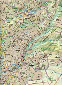 Hamburg Ost/West = unterwegs in Hamburg Rad- u. Wanderkarte = 1 Karte = Vorderseite West + Ost auf der Rückseite - mit vielen touristischen Informationen - Karte Ost/West - Produktdetailbild 1