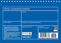 Hamburg - Unvergessliche Impressionen (Tischkalender 2019 DIN A5 quer) - Produktdetailbild 13