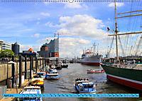 Hamburg - Unvergessliche Impressionen (Wandkalender 2019 DIN A2 quer) - Produktdetailbild 4