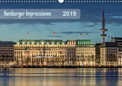 Hamburger Impressionen 2019 (Wandkalender 2019 DIN A3 quer), Klaus Kolfenbach