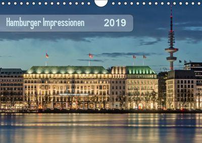 Hamburger Impressionen 2019 (Wandkalender 2019 DIN A4 quer), Klaus Kolfenbach