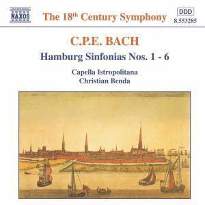 Hamburger Sinfonien 1-6*Benda, Christian Benda, Cib