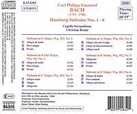 Hamburger Sinfonien 1-6*Benda - Produktdetailbild 1