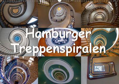Hamburger Treppenspiralen (Wandkalender 2019 DIN A2 quer), Annick Salomo & Thomas Becker