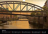 Hamburgs Brücken bei Nacht (Wandkalender 2019 DIN A4 quer) - Produktdetailbild 7