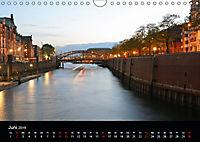 Hamburgs Brücken bei Nacht (Wandkalender 2019 DIN A4 quer) - Produktdetailbild 6
