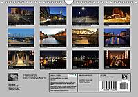 Hamburgs Brücken bei Nacht (Wandkalender 2019 DIN A4 quer) - Produktdetailbild 13