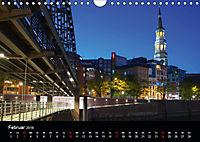 Hamburgs Brücken bei Nacht (Wandkalender 2019 DIN A4 quer) - Produktdetailbild 2
