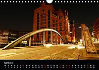Hamburgs Brücken bei Nacht (Wandkalender 2019 DIN A4 quer) - Produktdetailbild 4