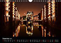Hamburgs Brücken bei Nacht (Wandkalender 2019 DIN A4 quer) - Produktdetailbild 12