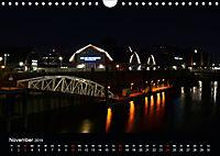 Hamburgs Brücken bei Nacht (Wandkalender 2019 DIN A4 quer) - Produktdetailbild 11