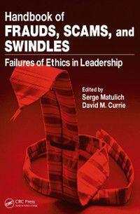 Handbook of Frauds, Scams, and Swindles
