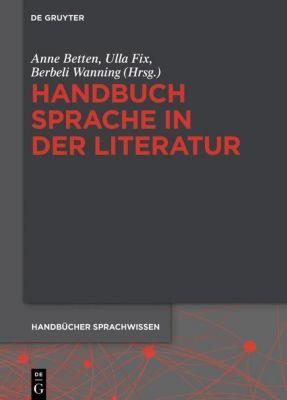 Handbuch Sprache in der Literatur