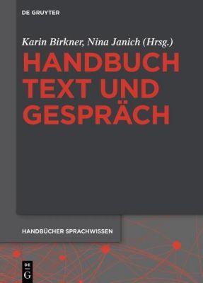 Handbuch Text und Gespräch