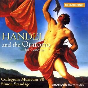 Handel And The Oratorio, Collegium Musicum 90, Standage