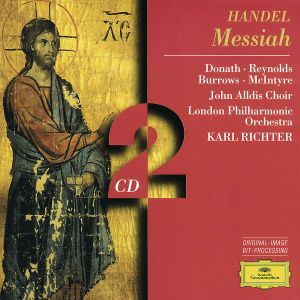 Handel: Messiah, Donath, Reynolds, Richter, Lpo