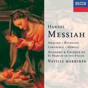 Handel: Messiah, Ameling, Reynolds, Marriner, Amf
