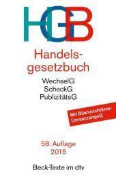 Handelsgesetzbuch (HGB), Wolfgang Hefermehl