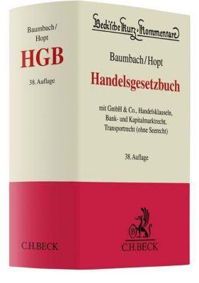 Handelsgesetzbuch (HGB), Kommentar, Adolf Baumbach, Klaus J. Hopt