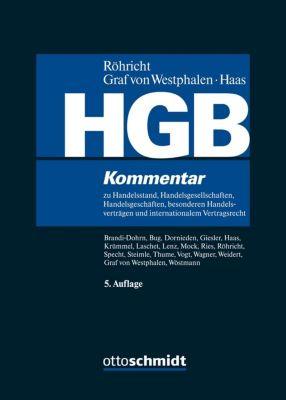 Handelsgesetzbuch (HGB), Kommentar -  pdf epub