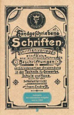 Handgeschriebene Schriften, Franz Endreß